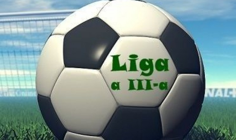 Liga a III-a: Remize albe pentru echipele sibiene