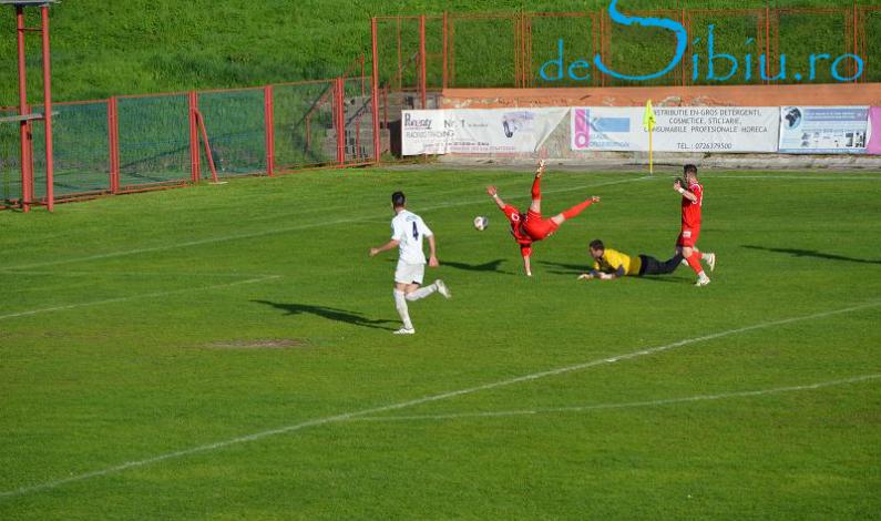 FC Cisnădie – FC Caracal 1-1. Damila Măciuca se distanţează