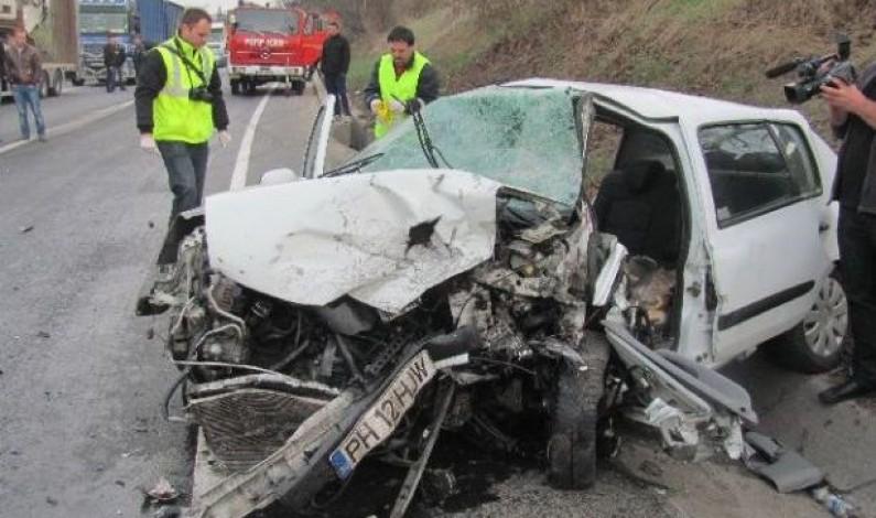 Accident grav pe DN1, Sibiu – Sebes