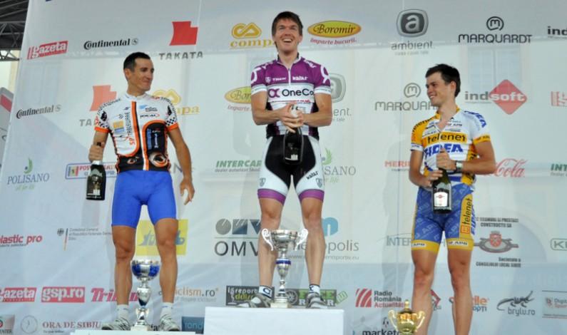 Bergsland câştigă Prologul Turului Ciclist al Sibiului 2012