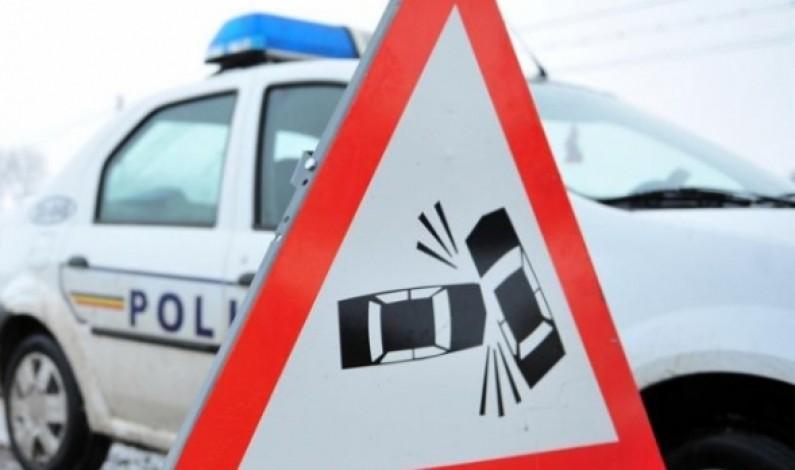 Accident cu nouă răniți la ieșirea din Sibiu spre Centura Ocolitoare