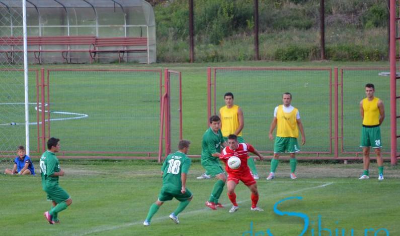 FC Cisnădie a pierdut în deplasarea de la Tărlungeni