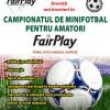 """Campionatului de minifotbal """"FairPlay"""" debutează în 15 Septembrie la Sibiu"""