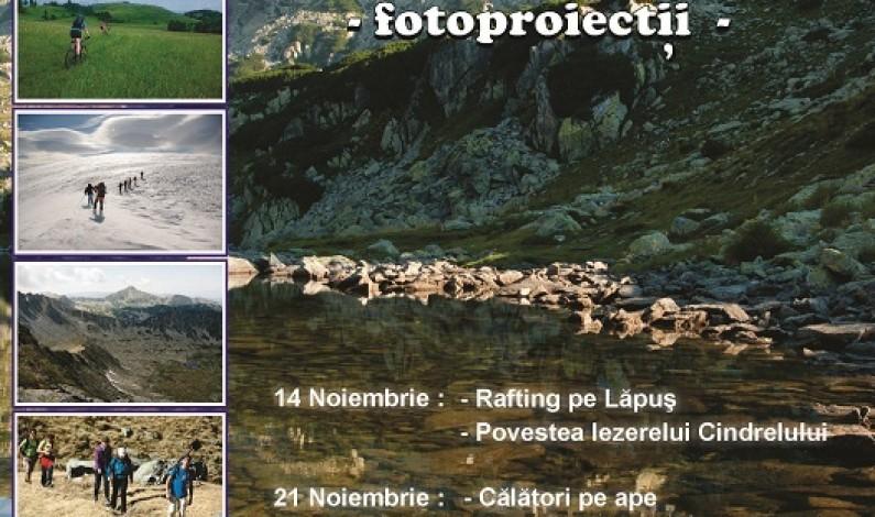 Proiecţii foto organizate de Amicii Munţilor Sibiu