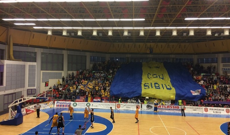 CSU Sibiu victorie categorica cu Gaz Metan Medias