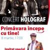 Concert Holograf, de 8 martie, la Sibiu