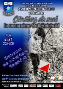 Afis Carabus de mai 2013