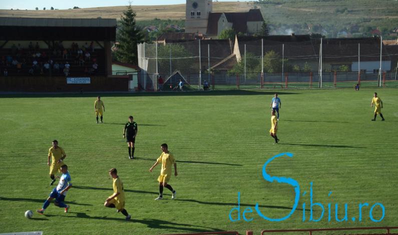 FC Cisnădie – Corona Braşov 3-0 în turul IV al Cupei României