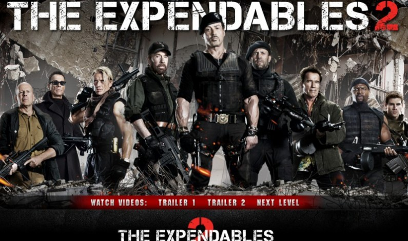 The Expendables 2 la Cinema Arta din Sibiu în perioada 14-20 septembrie
