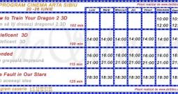 Program Cinema Arta Sibiu 20-26 iunie